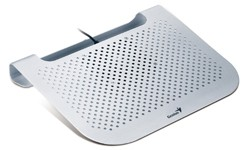 Chladiace podložky Chladič notebooků GENIUS NB Stand 280 , USB, strieborný