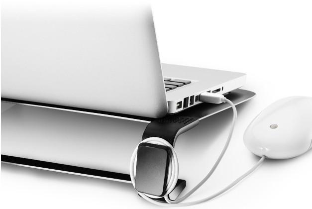 Chladiace podložky Cooler Master ALU NotePal U2 Plus, strieborná