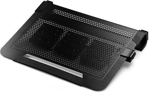 Chladiace podložky Cooler Master ALU NotePal U3 Plus, čierna