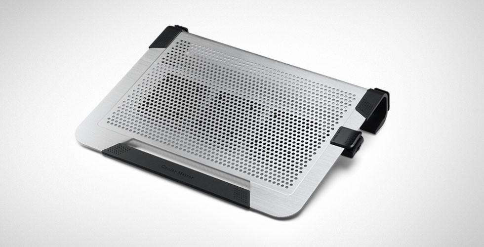 Chladiace podložky Cooler Master ALU NotePal U3 Plus, strieborná ROZBALENÉ
