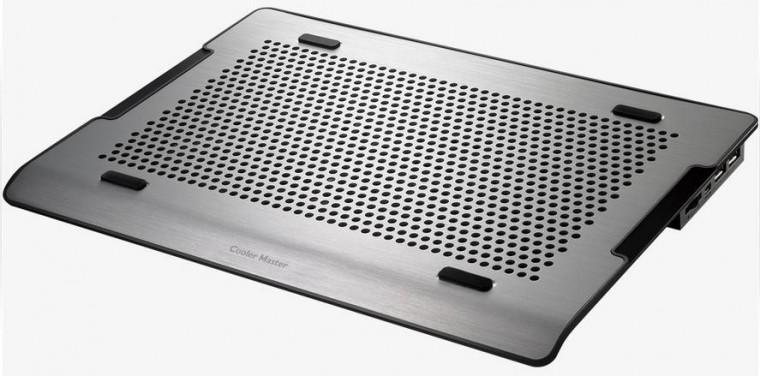 Chladiace podložky Cooler Master NotePal A200, strieborná