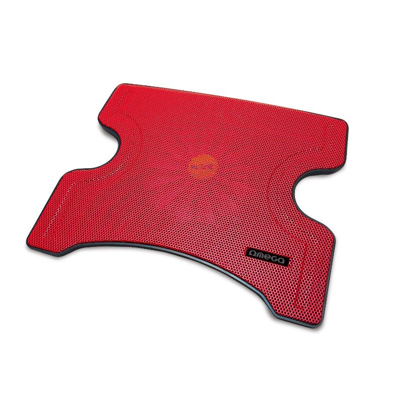 Chladiace podložky OMEGA chladiaca podložka FRIDGE 1 ventilátor, 2USB, červená