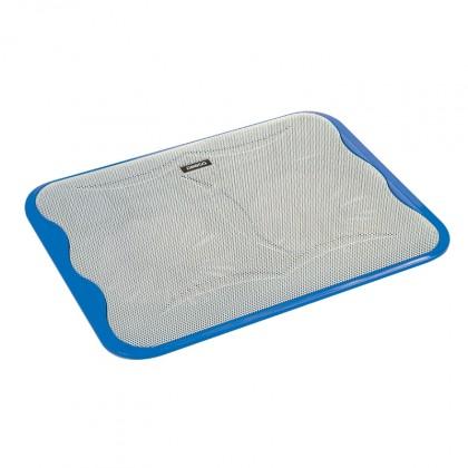 Chladiace podložky Podstavec pod notebook OMEGA ICE CUBE, 2x 14cm vetrák, modrý