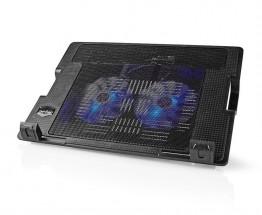 """Chladiaci stojan na notebook Nedis NBCR200BK,veľkosť 18"""", čierny"""