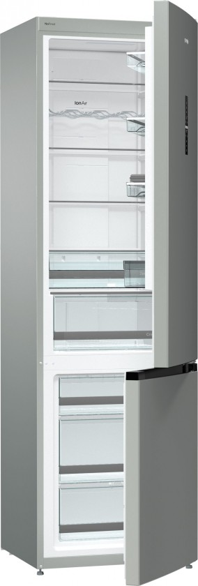 Chladničky s mrazničkou dole Kombinovaná chladnička Gorenje NRK6203TX4, A+++