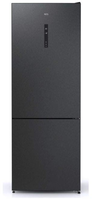 Chladničky s mrazničkou dole Kombinovaná chladnička s mrazničkou dole AEG RCB646E3MB, A++