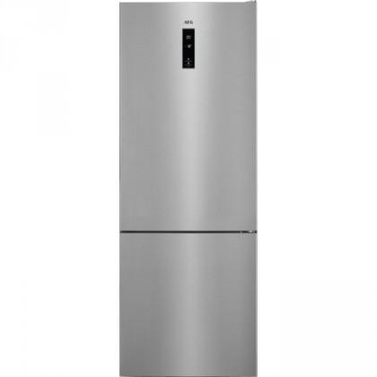 Chladničky s mrazničkou dole Kombinovaná chladnička s mrazničkou dole AEG RCB65121TX A++
