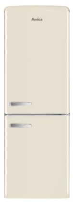 Chladničky s mrazničkou dole Kombinovaná chladnička s mrazničkou dole Amica VC 1622 M