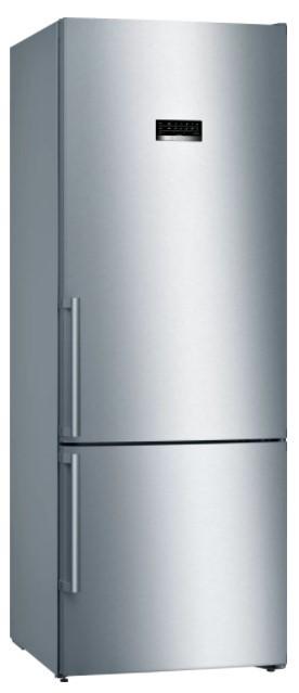 Chladničky s mrazničkou dole Kombinovaná chladnička s mrazničkou dole Bosch KGN56XIDP