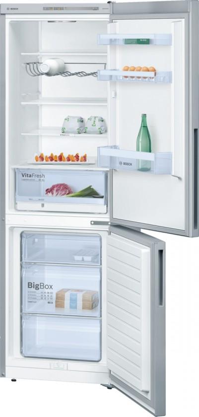 Chladničky s mrazničkou dole Kombinovaná chladnička s mrazničkou dole Bosch KGV 36VL32, A++