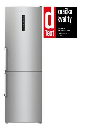 Chladničky s mrazničkou dole Kombinovaná chladnička s mrazničkou dole Gorenje NRC6194SXL5M