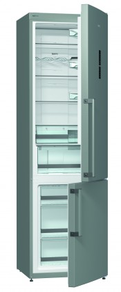 Chladničky s mrazničkou dole Kombinovaná chladnička s mrazničkou dole Gorenje NRK 6203 TX