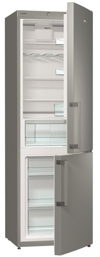 Chladničky s mrazničkou dole Kombinovaná chladnička s mrazničkou dole GORENJE RK 6192 BX, A++