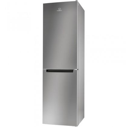 Chladničky s mrazničkou dole Kombinovaná chladnička s mrazničkou dole Indesit LR9 S2Q F X B