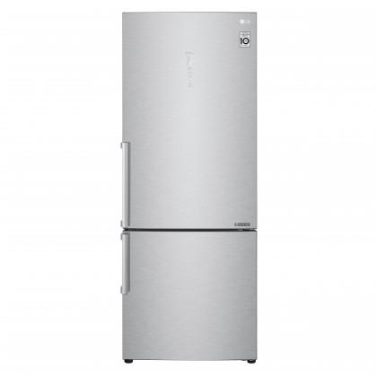 Chladničky s mrazničkou dole Kombinovaná chladnička s mrazničkou dole LG GBB569NSAFB, A+++