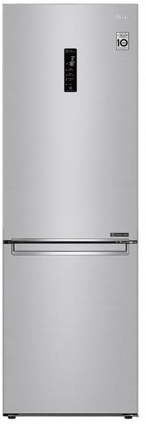 Chladničky s mrazničkou dole Kombinovaná chladnička s mrazničkou dole LG GBB71NSDZN, A++ VADA