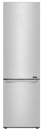 Chladničky s mrazničkou dole Kombinovaná chladnička s mrazničkou dole LG GBB92STAQP, A+++