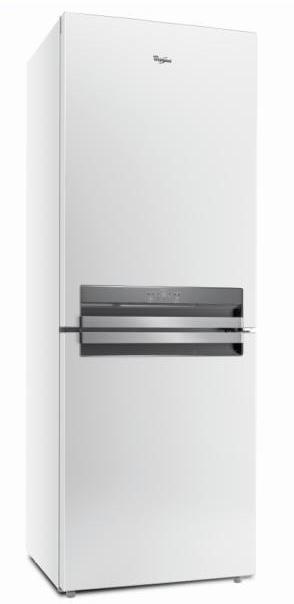 Chladničky s mrazničkou dole Kombinovaná chladnička s mrazničkou dole Whirlpool BTNF5323W