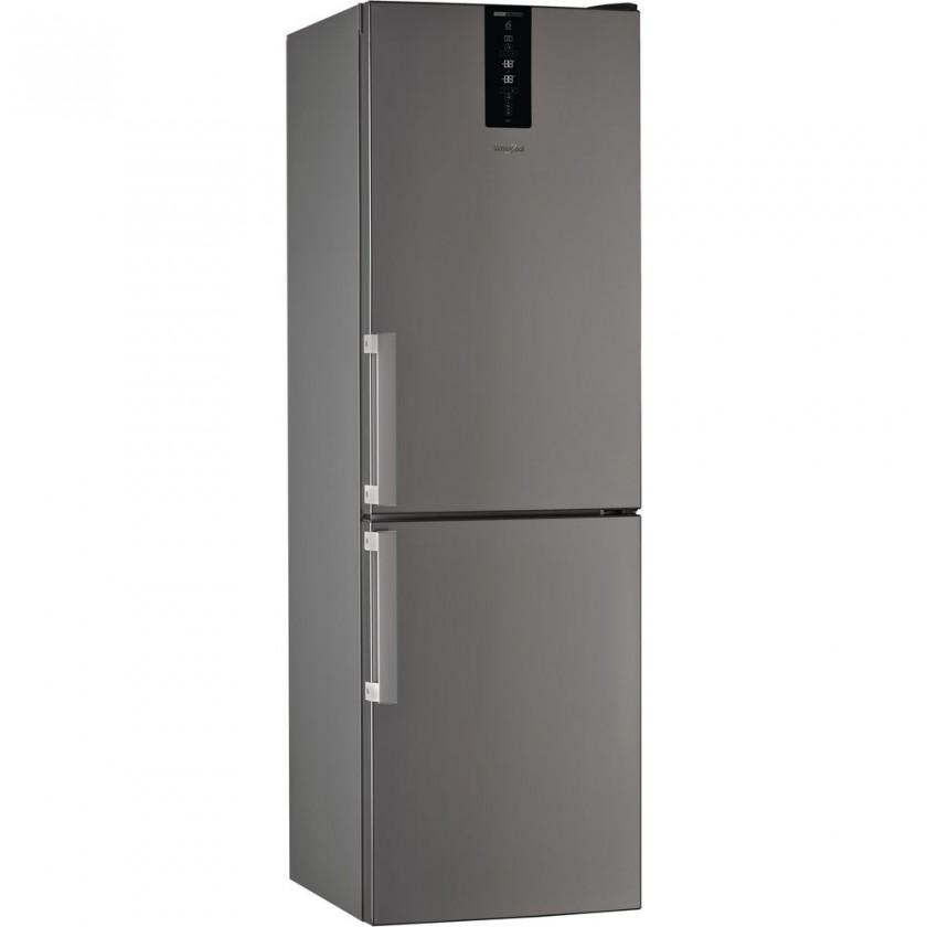 Chladničky s mrazničkou dole Kombinovaná chladnička s mrazničkou dole Whirlpool W7 831T OX H