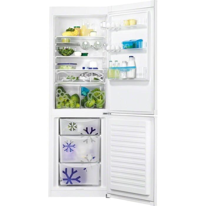 Chladničky s mrazničkou dole Kombinovaná chladnička s mrazničkou dole Zanussi ZRB 36104 WA