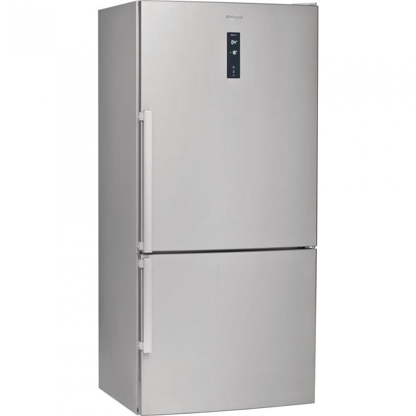 Chladničky s mrazničkou dole Kombinovaná chladnička W84BE72X,A++,1860x840x750mm