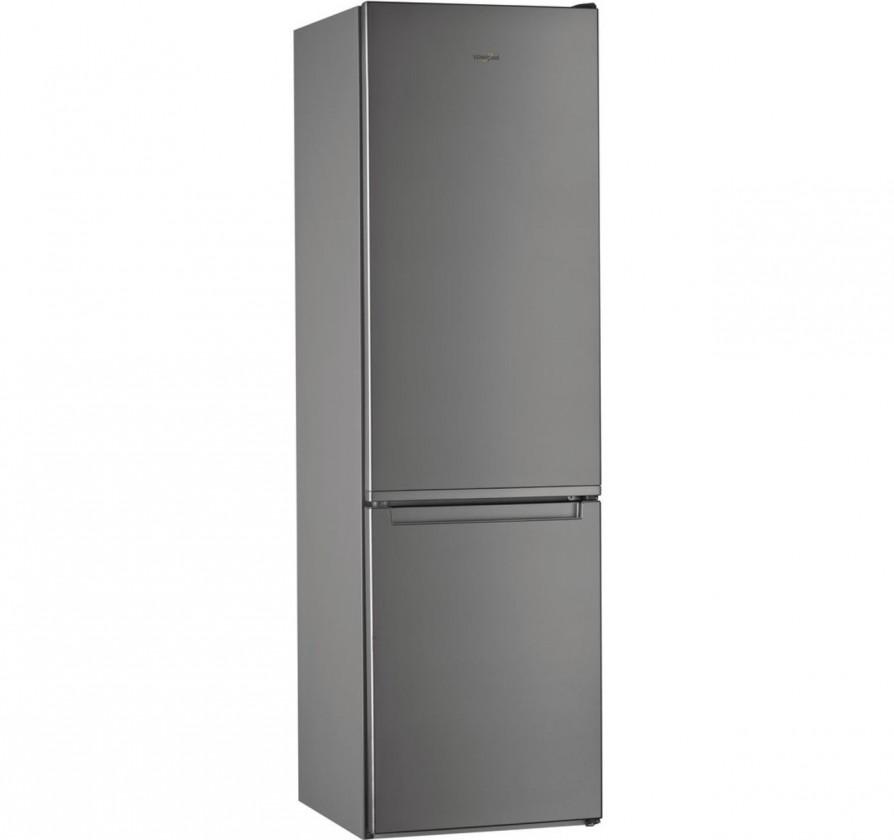Chladničky s mrazničkou dole Kombinovaná chladnička Whirlpool W 5921 EOX