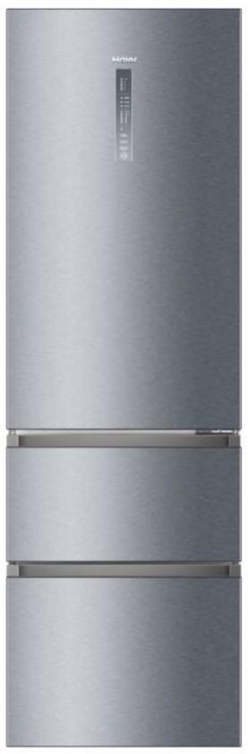 Chladničky s mrazničkou dole Voľne stojaca kombinovaná chladnička Haier A3FE835CGJE