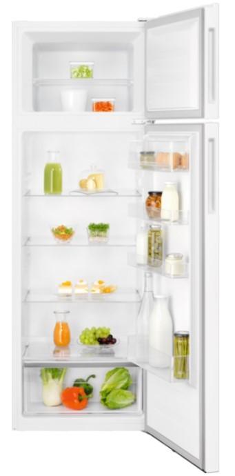 Chladničky s mrazničkou hore Kombinovaná chladnička Electrolux LTB1AF28W0, 201/41l,