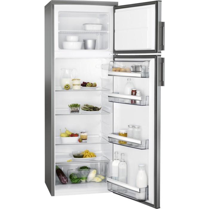 Chladničky s mrazničkou hore Kombinovaná chladnička s mrazničkou hore AEG RDB72721AX VADA VZHĽ