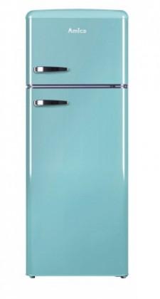 Chladničky s mrazničkou hore Kombinovaná chladnička s mrazničkou hore Amica VD 1442 AL