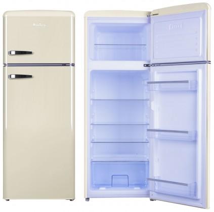 Chladničky s mrazničkou hore Kombinovaná chladnička s mrazničkou hore Amica VD 1442 AM