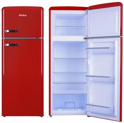 Chladničky s mrazničkou hore Kombinovaná chladnička s mrazničkou hore Amica VD 1442 AR