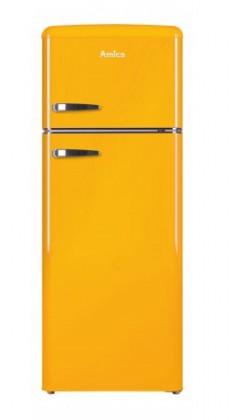 Chladničky s mrazničkou hore Kombinovaná chladnička s mrazničkou hore Amica VD 1442 AY