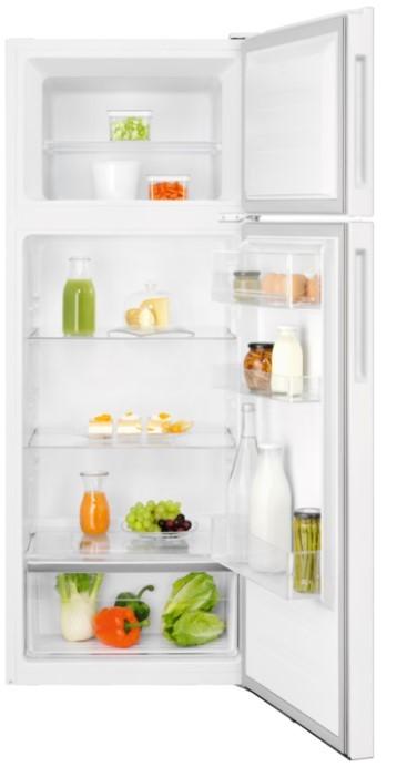 Chladničky s mrazničkou hore Kombinovaná lednice Electrolux LTB1AE24W0, A++,164/41l