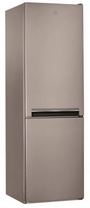 Chladničky s mrazničkou Kombinovaná chladnička s mrazničkou dole INDESIT LI8 S1 X, A+