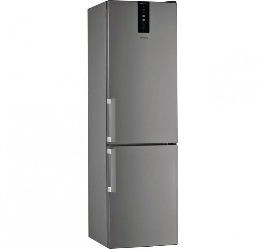 Chladničky s mrazničkou Kombinovaná chladnička s mrazničkou dole Whirlpool W7 931T OX H,