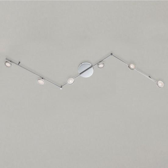 Chloe - Stropné osvetlenie, LED (chróm)