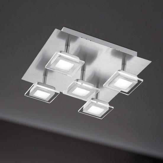Cholet - Stropné osvetlenie, LED (matný nikel)