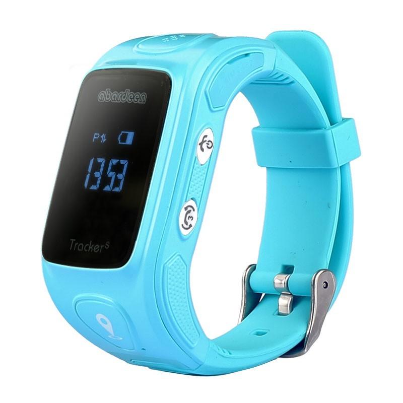Chytré hodinky Abardeen KT01S náramkový telefón, Blue POUŽITÝ