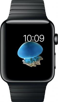 Chytré hodinky Apple Watch Series 2, 42mm pouzdro z černé nerez. Oceli, černá