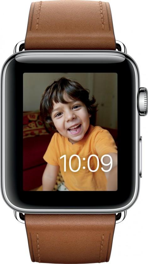 Chytré hodinky Apple Watch Series 2, 42mm pouzdro z nerez. oceli + shnědá