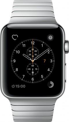 Chytré hodinky Apple Watch Series 2, 42mm pouzdro z nerez. oceli + stříbrná