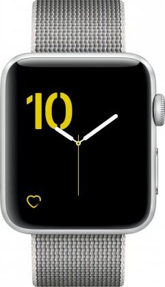 Chytré hodinky Apple Watch Series 2, 42mm pouzdro ze stříbrného AL + šedá