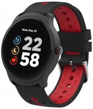 Chytré hodinky Canyon Oregano,2 remienky,čierno-červená