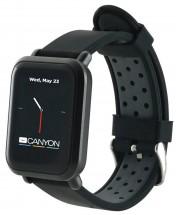Chytré hodinky Canyon Sanchal, 2x remienok, čierna