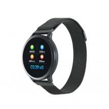 Chytré hodinky Canyon SW71, 2 náramky, čierna