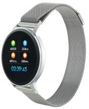 Chytré hodinky Canyon SW71, 2 náramky, strieborná