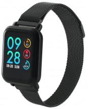 Chytré hodinky Canyon SW72, 2 náramky, čierna