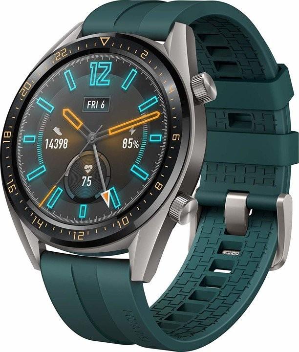 Chytré hodinky Chytré hodinky Huawei Watch GT Active, zelená