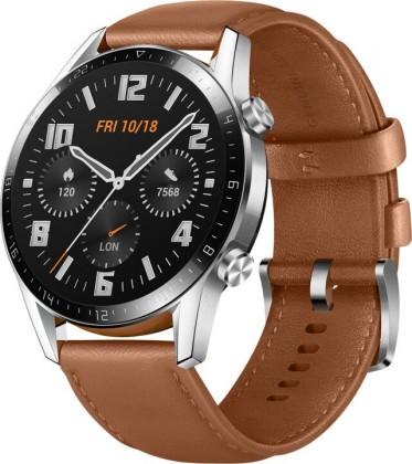 Chytré hodinky Chytré hodinky Huawei Watch GT2, hnedá